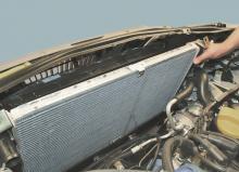 Замена радиаторов охлаждения двигателя