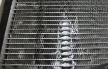 Пайка алюминиевого радиатора охлаждения двигателя автомобиля